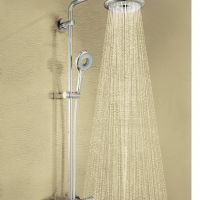 22 Grohe Exposed Thermostatic Rainshower Set And Handshower
