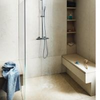20 Grohe Exposed Thermostatic Rainshower Set And Handshower
