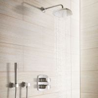 08 Grohe GrandEra Conseled Rain Shower System By Grohe